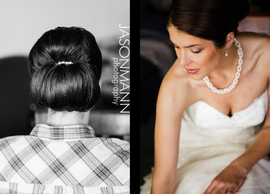 Jason Mann Photography - Door County Wedding Hair (Updo) and Makeup