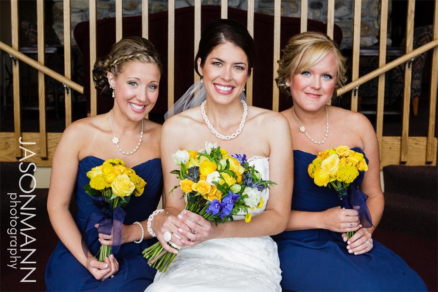 Jason Mann Photography - Door County Wedding Bride and Bridesmaids