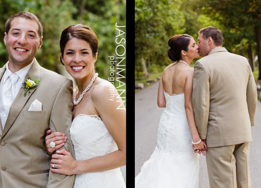 Jason Mann Photography - Door County Wedding Bride & Groom