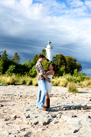 Kit Tony_Engagement Photos_Door County_Lighthouse_0014