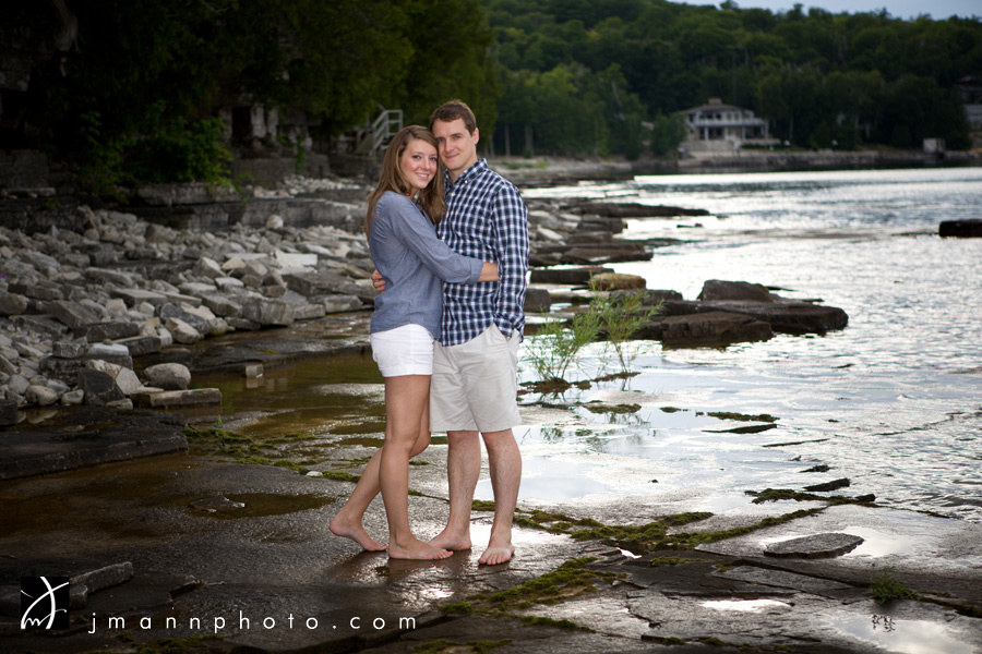 Door County Wedding Engagement Pictures