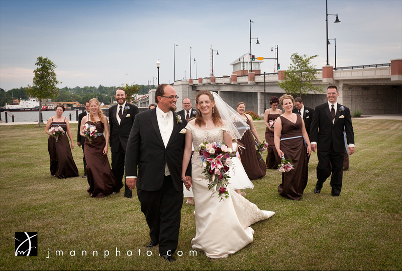 Door County Wedding, Sturgeon Bay Waterfront