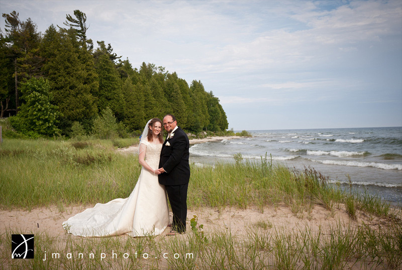 Door County Beach Wedding