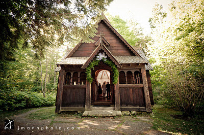 Bjorklunden Chapel Wedding
