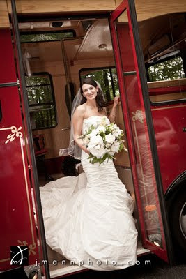 Door County Trolley Bride